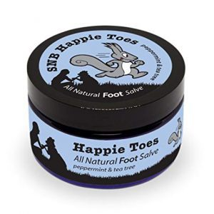 Squirrels Nut Butter Happy Toes All Natural Foot Salve