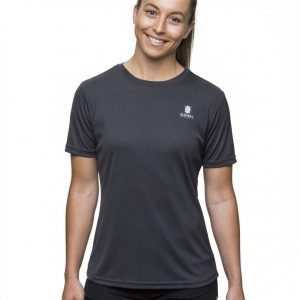 Kusaga Women's Ecodry Performance Run Tee | Kusaga_tee_black_womens