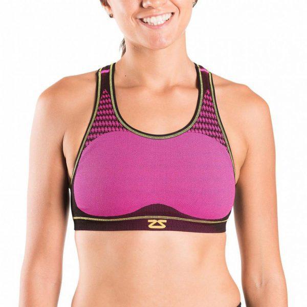 Zensah POP Seamless Running Sports Bra | Zensah POP Seamless Running Bra