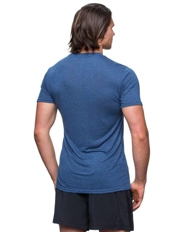 Kusaga The Greenest Tee Men | greenest_mens_blue2
