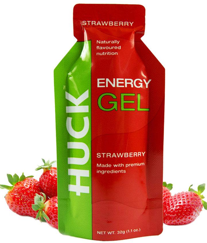 Huck Natural Energy Gel Box Of 12 Pure Running
