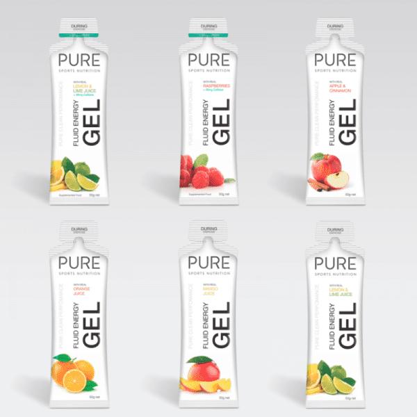 Pure Fluid Energy Gels (6 Flavours) | peakfuel_510g_pouch_1_add406bf-fdf8-4284-b93b-bd52d5990604_1024x1024
