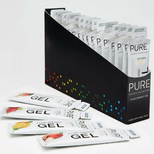 Pure Fluid Energy Gels (6 Flavours) | pure_gel_1