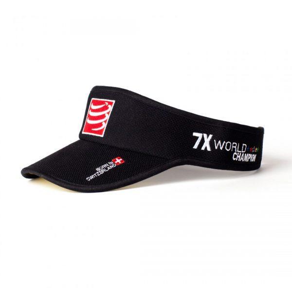Compressport Visor Cap | visor-black
