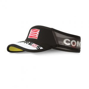 Compressport Visor Ultralight V2 | visor-ultralight-black