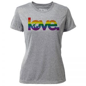 "Atayne ""Global Love"" Women's Short Sleeve Hybrid Top 
