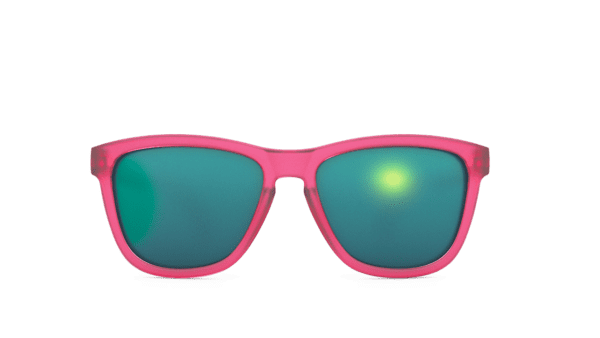 Goodr Sunglasses OG Bright Pink Front