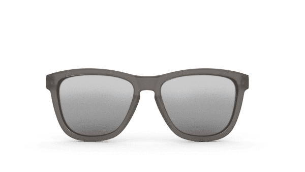 Goodr OG Running Sunglasses - Going to Valhalla….Witness! | Goodr Sunglasses OG Grey Front