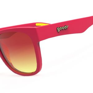 Goodr Sunglasses Red Yellow