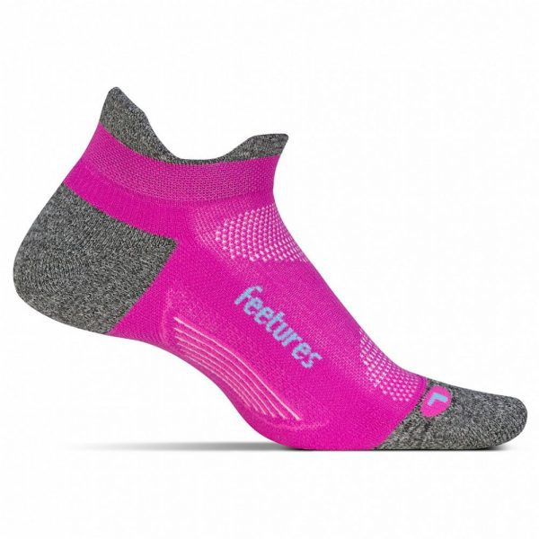 Feetures Elite Lite Cushion No-Show Tab (6 Colours) | Feetures Fuschia Pop
