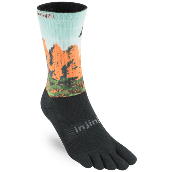 Injinji TRAIL 2.0 Midweight Crew - Australiana Collection | Three_Sisters_2048x