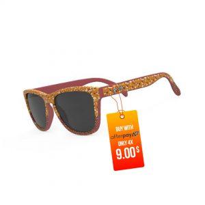 Goodr Beast OG Sunglasses - Albino Rhino Chalked Hooves   Give-Em-the-Bird