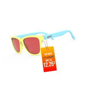 Goodr OG - Pineapple Painkillers | Goodr-OG-Running-Sunglasses-Pinapple-Painkillers