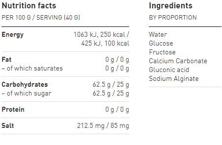 Maurten 100 Gel | Gel Nutrition