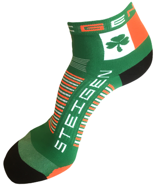 Steigen Quarter Length Running Socks (13 Colours) | Irish