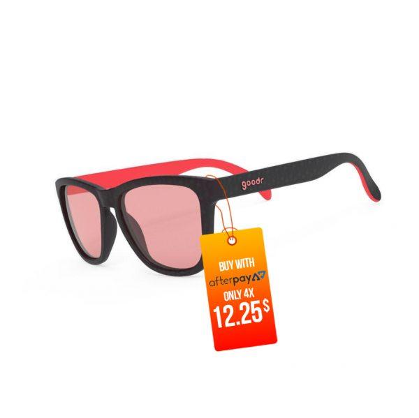 Goodr OG Running / Golf Sunglasses – Tiger Blood Transfusion