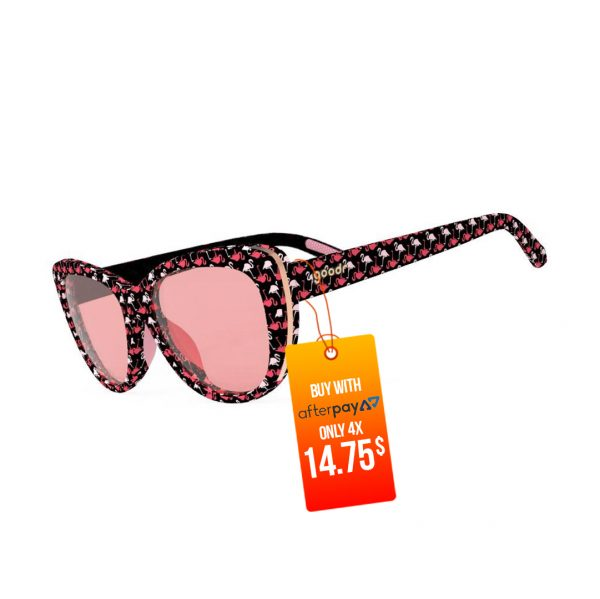 Goodr The Runways Running / Golf Sunglasses – Gopher a Flamingo