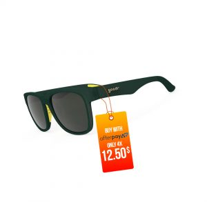 Goodr The Runways Running / Golf Sunglasses – Captain Ashley's Mulligan | Green-Jacket-Mafia