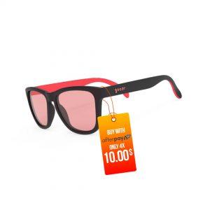 Goodr OG Running / Golf Sunglasses – Au Revoir, Gopher   Tiger-Blood-Transfusion