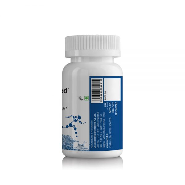 Unived Vegan Caffeinated Electrolyte Salt Capsules - 30 Servings | Unived-Caffeinated-Salt-Caps-Electrolyte-Replacement-30-Vegan-Capsules-Barcode