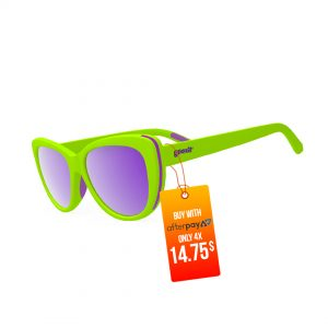 Goodr The Runways Running Sunglasses – Total Lime Piece | Goodr-The-Runways-Running-Sunglasses-Total-Lime-Piece