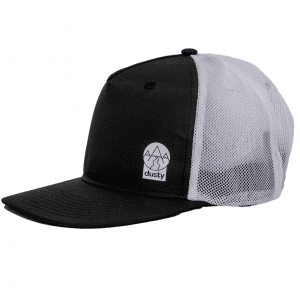 Dusty Trails Running Trucker - Swoopy (Black and White) | trucker-white-black_2048x2048