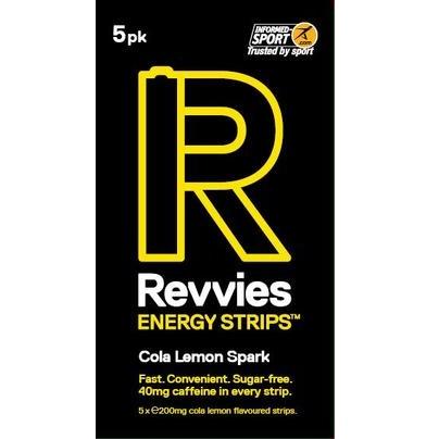 Revvies Energy Strips - Cola Lemon Spark | Cola