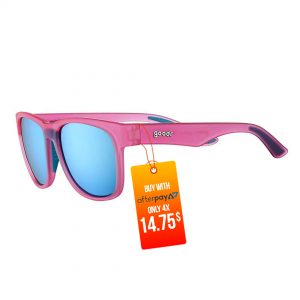 Goodr BFG Beast Running Sunglasses - Do You Even Pistol, Flamingo? | Goodr-BFG-Beast-Running-Sunglasses-Do-You-Even-Pistol-Flamingo
