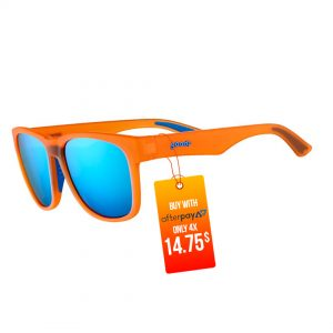 Goodr BFG Beast Running Sunglasses - That Orange Crush Rush | Goodr-BFG-Beast-Running-Sunglasses-That-Orange-Crush-Rush