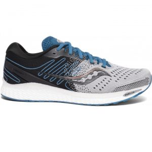 Saucony Men's Freedom 3 (Grey/Blue) | Saucony Men's Running Shoes