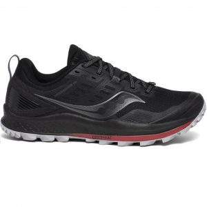 Saucony Men's Peregrine 10 (Black/Red) | s20556-20_1