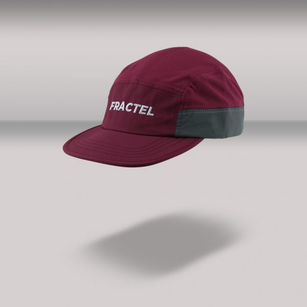 "Fractel ""Merlot"" Edition Reflective Cap | MERLOT_FRONTANGLE"