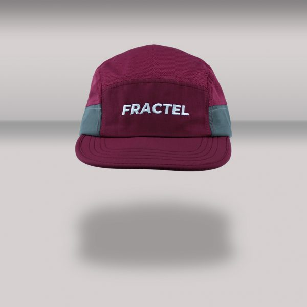 "Fractel ""Merlot"" Edition Reflective Cap | MERLOT_FRONT_STD"