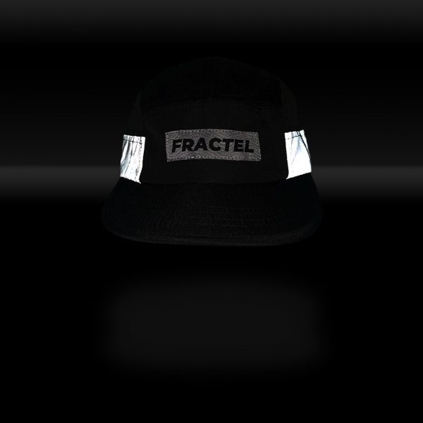 """Fractel """"Midnight"""" Edition Reflective Cap   MIDNIGHT_FRONT_REFLECT"""