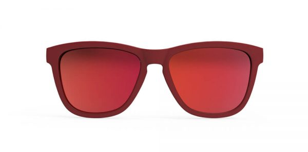 Goodr OG Running Sunglasses - Feather o' the Phoenix | Feather Phoenix Front