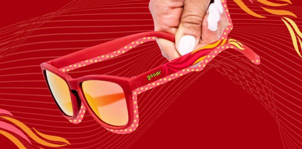 Goodr OG Running Sunglasses - Feather o' the Phoenix | Feather Phoenix MO