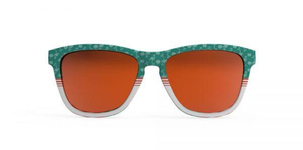 Goodr OG Running Sunglasses - Flamingos Can Fly Too | Flamingos Can Fly Too Front