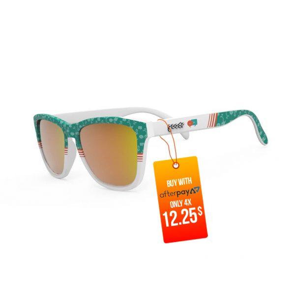 Goodr OG Running Sunglasses - Flamingos Can Fly Too | Goodr OG Running Sunglasses Flamingos Can Fly-Too