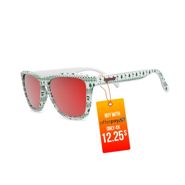 Goodr OG Running Sunglasses - Merry Flocking Christmas | Goodr OG Running Sunglasses Merry Flocking Christmas