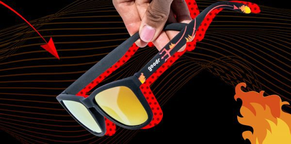 Goodr OG Running Sunglasses - See You in Hell | Hell MO