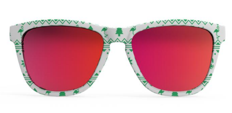 Goodr OG Running Sunglasses - Merry Flocking Christmas | Merry Flocking Christmas Front