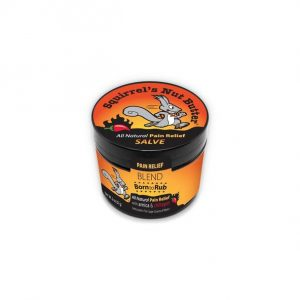 Squirrel's Nut Butter - Born to Rub Pain Relief | 2.0_oz_BTR_Tub_608x608