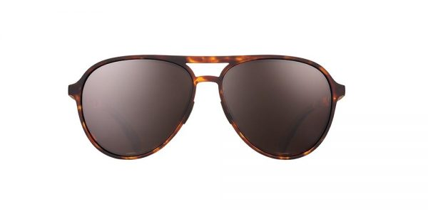 Goodr Mach Gs Aviator Running Sunglasses - Amelia Earhart Ghosted Me | AmeliaGhostedFront_1000x