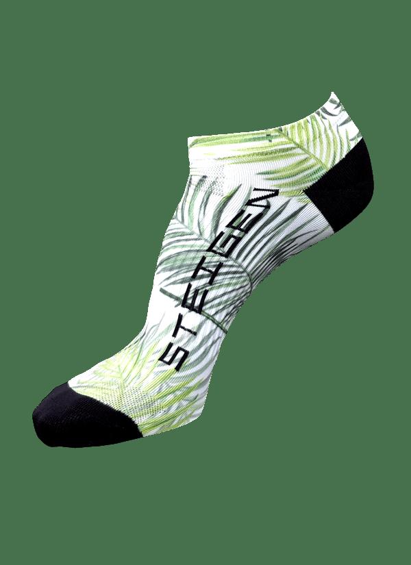 Steigen Zero Length Running Socks (8 Colours) | Palm-Tree-Zero