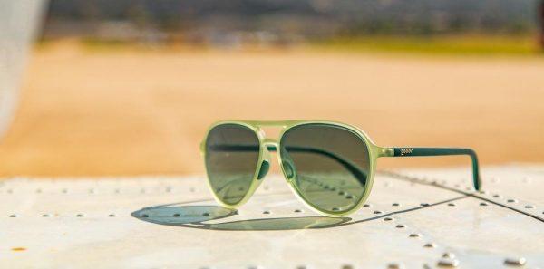 Goodr Mach Gs Aviator Running Sunglasses - Amelia Earhart Ghosted Me | goodr_CockpitOptics_BuzzedontheTower_product004_1_1000x