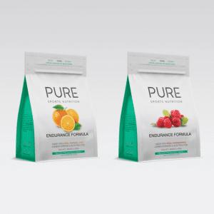 Pure Sports Nutrition Endurance Formula 500G Pouch (2 Flavours) | Endurance Front