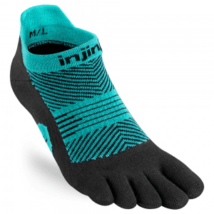Injinji Womens RUN Lightweight No-Show (3 Colours) | Jewel
