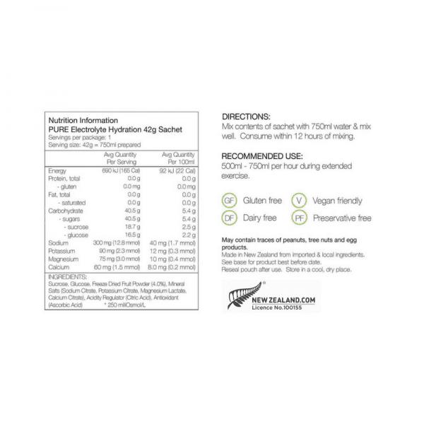 Pure Sports Electrolyte Hydration Premium Starter Kit | Nutrition