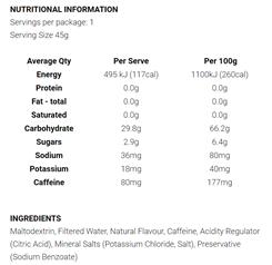 Koda Nutrition Energy Gels (8 Flavours) | Caffeine