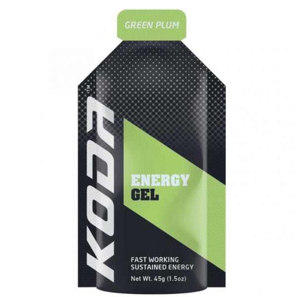 Koda Nutrition Energy Gels (8 Flavours) | KODA_Green_Plum_800x